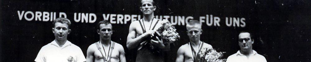 Ringen DDR-Meister Joachim Grohmann 1962